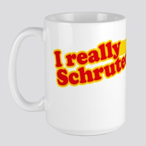 I Really Schruted It Large Mug
