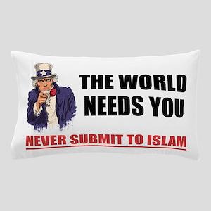 Uncle San Against Islam Pillow Case