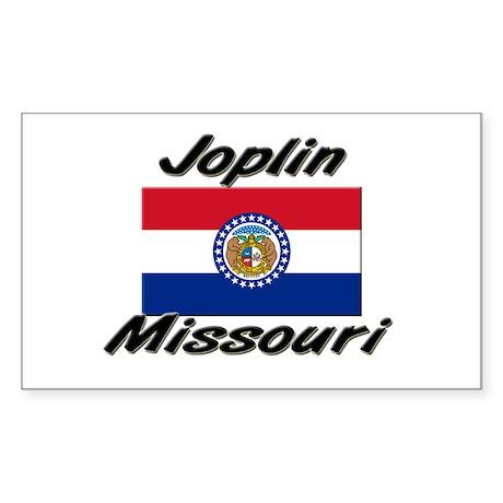 Joplin Missouri Rectangle Sticker