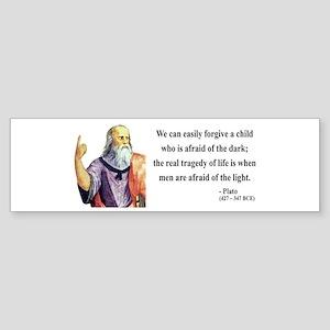 Plato 1 Bumper Sticker