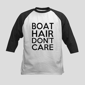 Boat Hair Don't Care Funny Baseball Jersey