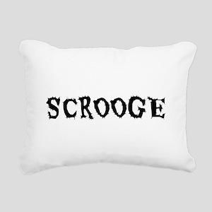 Scrooge Rectangular Canvas Pillow