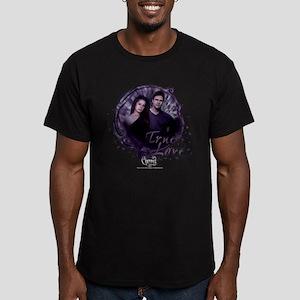 Charmed: True Love Men's Fitted T-Shirt (dark)