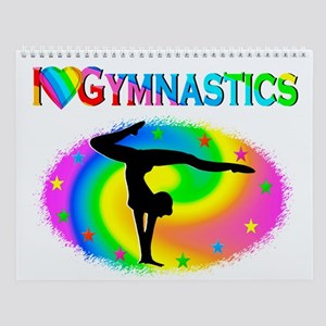 Gymnastics Love Wall Calendar