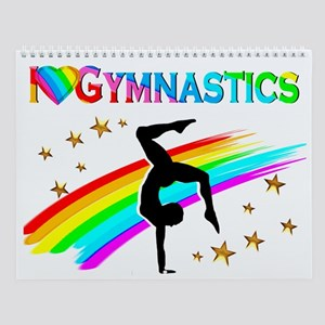Love Gymnastics Wall Calendar