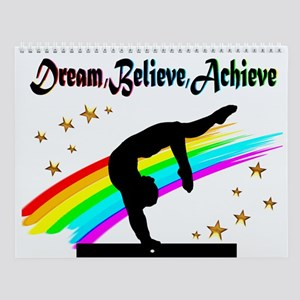 Gymnast Dreams Wall Calendar