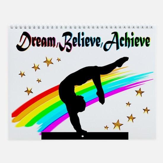 Gymnast Dreams Wall Calendar