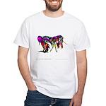 Rainbow Unicorn<br> White T-Shirt