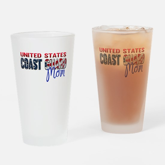 Funny Coast guard Drinking Glass