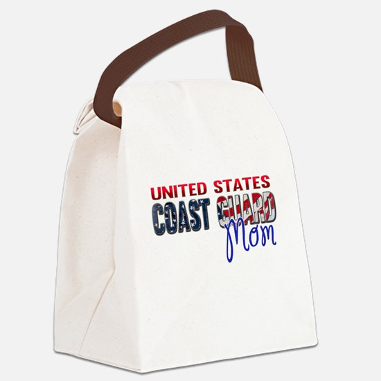 Funny Coast guard Canvas Lunch Bag
