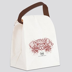 Charmed: The Power of Three Heart Canvas Lunch Bag