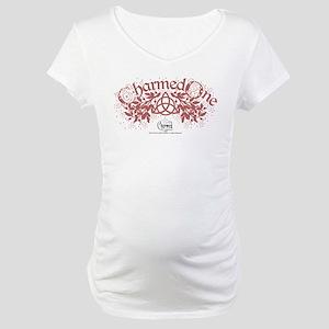 Charmed: The Power of Three Hear Maternity T-Shirt
