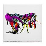 Rainbow Unicorn<br> Tile Coaster