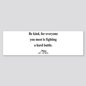 Plato 2 Bumper Sticker