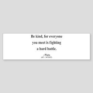 Plato 2 Bumper Sticker