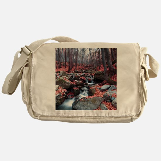 Woodland Stream Messenger Bag