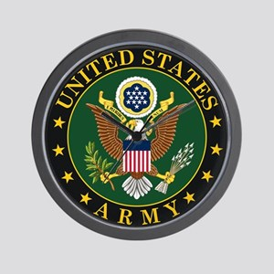 U.S. Army Symbol Wall Clock