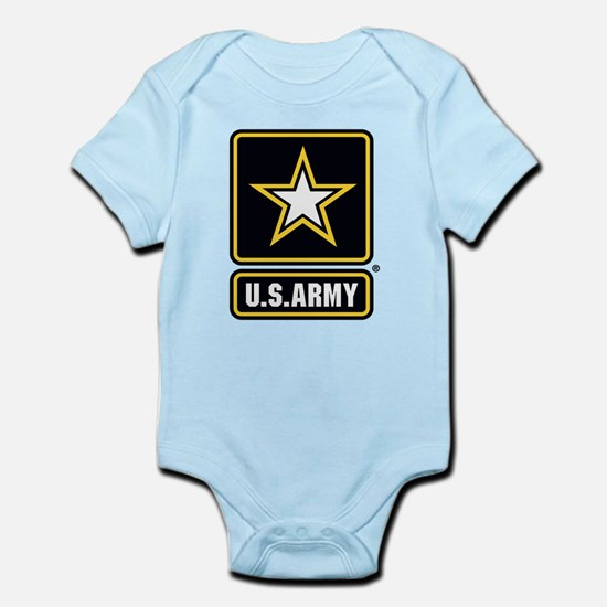 US Army Gold Star Logo Body Suit
