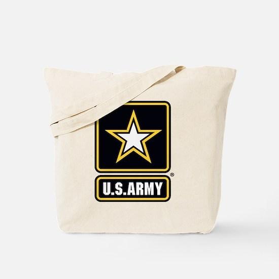 US Army Gold Star Logo Tote Bag