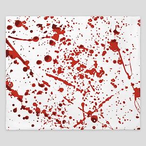 Blood splatter King Duvet