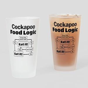 Cockapoo Food Drinking Glass