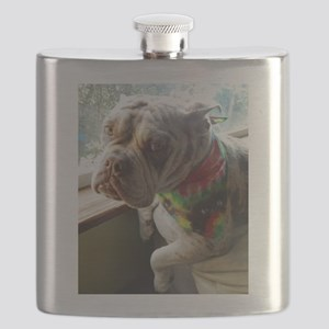 Olde English Bulldogge Flask