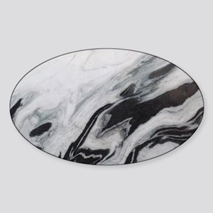 modern black white marble Sticker