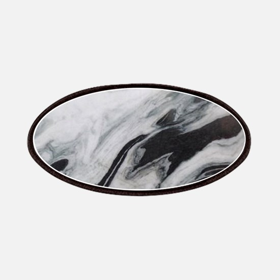modern black white marble Patch