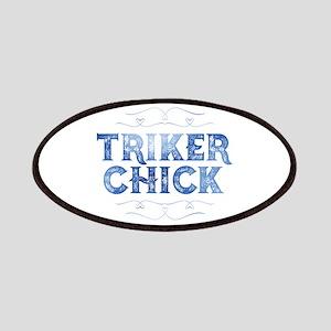 Triker Chick, Distressed Patch