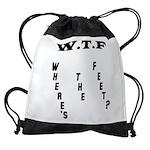 WTF Drawstring Bag