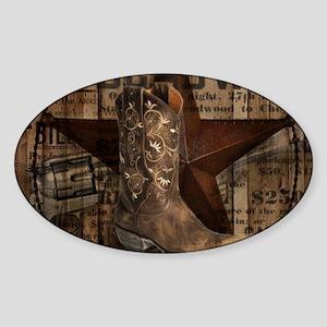 equestrian cowboy boots we Sticker