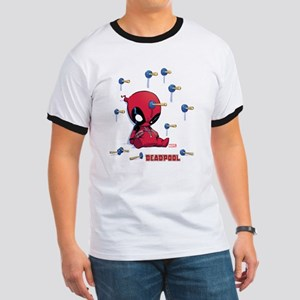 Deadpool Toy Darts Ringer T