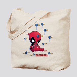 Deadpool Toy Darts Tote Bag