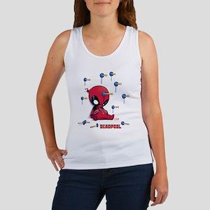 Deadpool Toy Darts Women's Tank Top