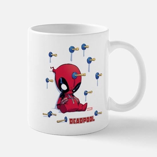 Deadpool Toy Darts Mug