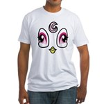 Bird Costume Fitted T-Shirt