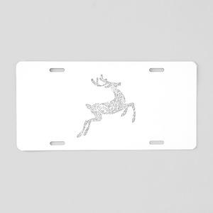 Filigree Silver Metallic Ch Aluminum License Plate