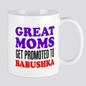 Promoted To Babushka Drinkware Mugs