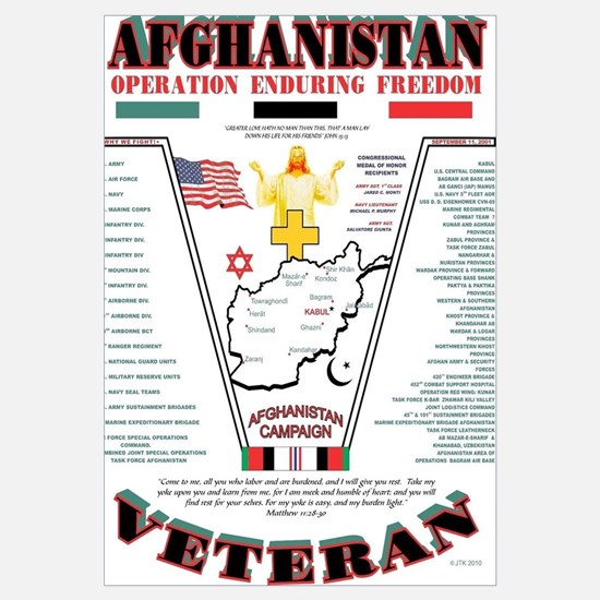AFGHANISTAN WAR OPERATION ENDURING FREEDOM