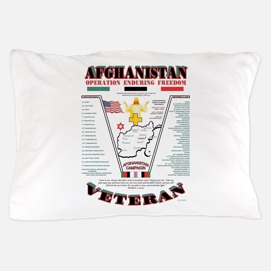 AFGHANISTAN WAR OPERATION ENDURING FRE Pillow Case