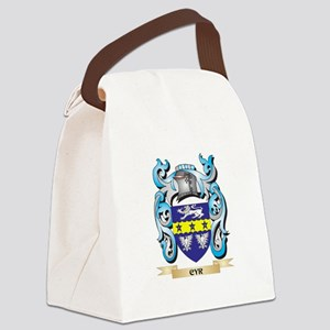 Cyr Coat of Arms - Family Crest Canvas Lunch Bag