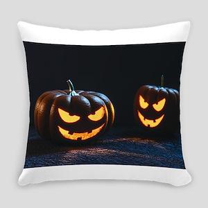 halloween pumpkins Everyday Pillow