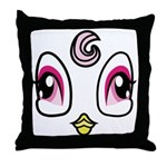 Bird Costume Throw Pillow