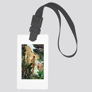 Dinghy by Anders Zorn Large Luggage Tag