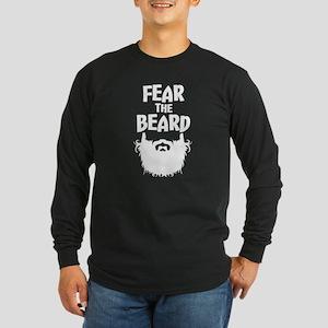 Fear the Beard funny Long Sleeve T-Shirt