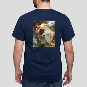 Fragrant Iris by Seignac Dark T-Shirt
