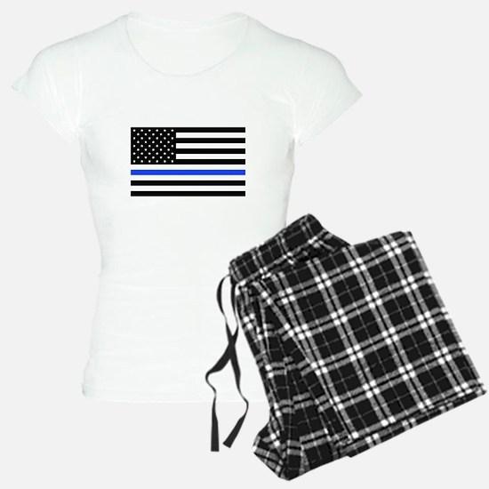 Flag Thin Blue Line Pajamas
