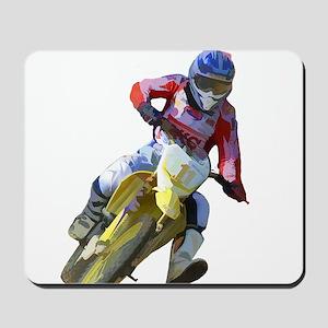 Motocross Driver Mousepad