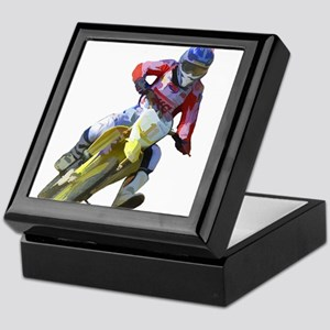 Motocross Driver Keepsake Box