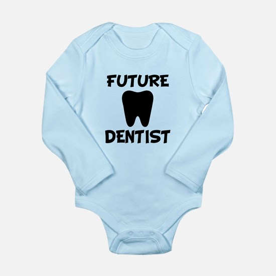 Future dentist funny baby boy Body Suit